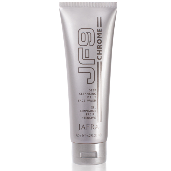 JF9 CHROME mélytisztító arcmosó gél