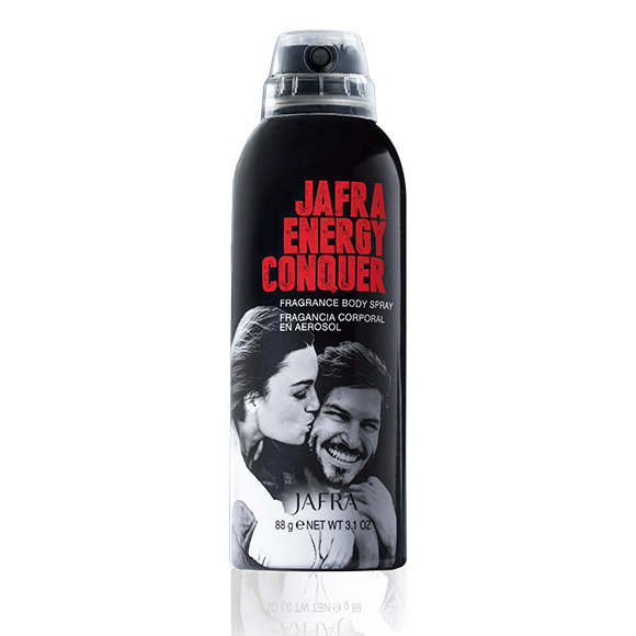 Jafra Energy Body Spray Conquer