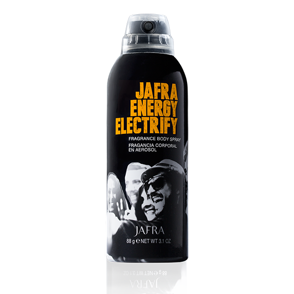 Jafra Energy Body Spray Electrify