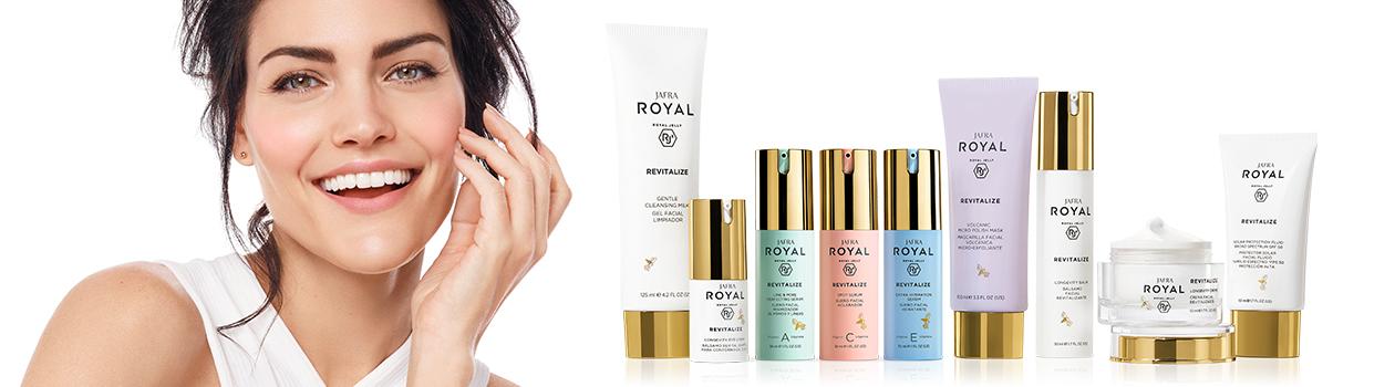 Jafra Royal Revitalize termékcsalád